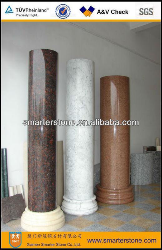 Interiores decorativas columnas de piedra pilares - Columnas decorativas interiores ...