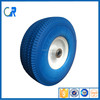 Environmental wheel ! Yinzhu manufacturer polyurethane solid wheel 3.50-4 for wheel barrow