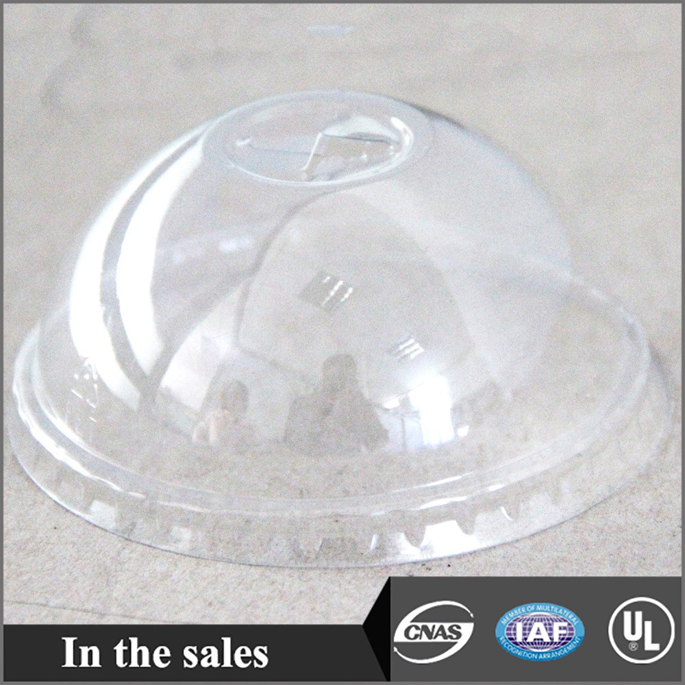 plastic cup with dome lid-85mm
