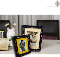2016 New Design Hot Sale Home Decoration Wood Material and Photo Frame Type MDF picture frame stands