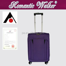 EVA trolley luggage set , 600D trolley luggage,Cheap Inner Trolley Soft Luggage ;600D Hot Sale Cheap Trolley Luggage Semi-Finish