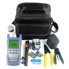 Fiber Optic Tool Kit / Optical Power Meter /FiberCleaver VFL/ VFL / Connector Cleaner