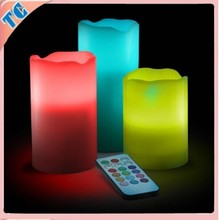 2016 wholesale Newest fashion candle wIth 18 key remote control in China