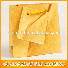 folding fashion printed paper bag for gift and shopping