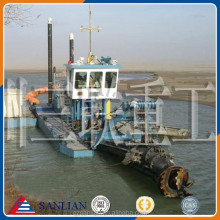 China Sanlian sand cutter suction dredger for sale