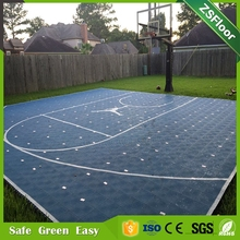 synthetic court flooring sport flooring portable PP basketball flooring