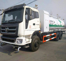 China Dieseling Foton 3 Axles 12 CBM Water Sprinkler Drinking Water Carrier Tank Truck