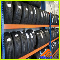 truck spare tire rack, warehouse tyre racking, semi trailer spare tire rack