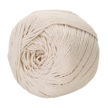 UTOP 3 mm 235 m Beige Natural Twisted Macrame Craft Cotton Rope