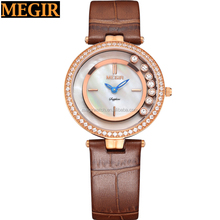 2016 sapphire crystal rose gold case with stones lady watch new design fashion girls watch