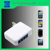 easy carry folding travel charger multi port usb chargers 4usb wall chargers