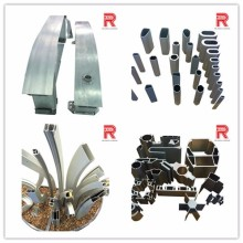 OEM all kinds of Aluminium extruded alloy for aluminium pipe fitting