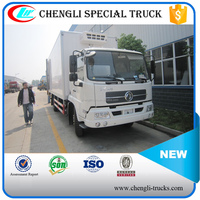 Dongfeng Tianjin 4x2 190HP 15ton Refrigerator Van Truck for meat and fish