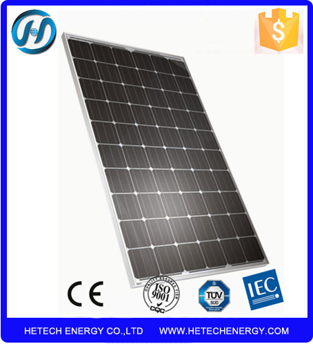 High efficiency Best Price solar panel 260w mono Pv Yingli cell for Home use