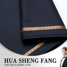 China Herringbone Wool 100% Wool Mens Suiting Fabric