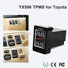 Tyre Pressure Monitoring Intelligent System + 4 External Sensors for Toyota Tire Alarm TPMS