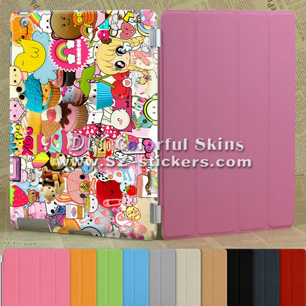 cartoon characters protective case for ipad2/3/4 tablet