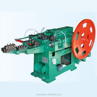 Super quality most popular wire staple strip nail making machine