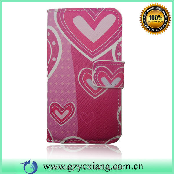 Good Quality Mobile Cell Flip Phone Covers For Nokia 208 Leather Case