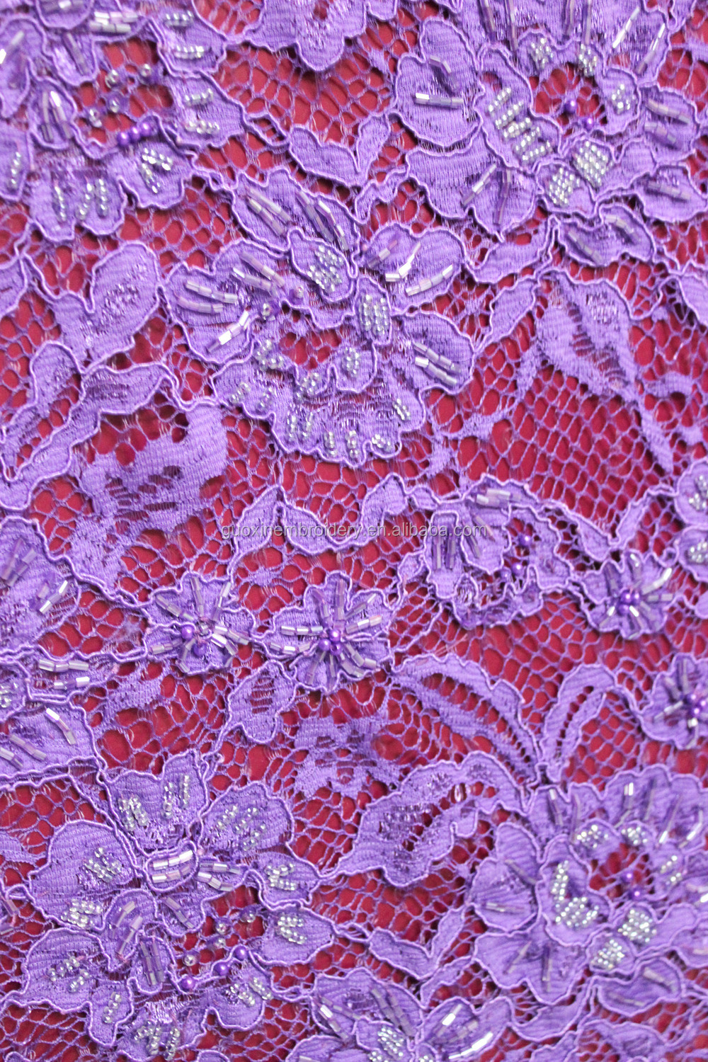 chemical cotton embroidery fabric/lace embroidery