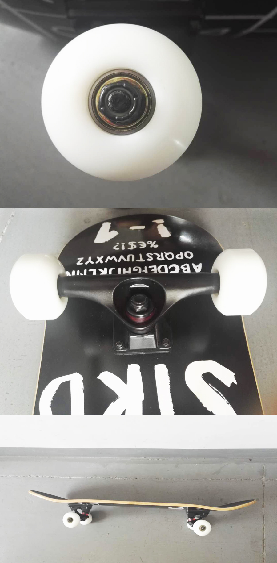 Wholesale skateboard wheel polyurethane custom skateboard wheels white color