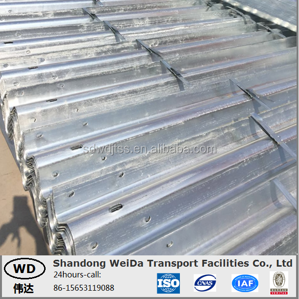 Hot Dip Galvanized Strong Guardrail Sigma Post Crash Barrier