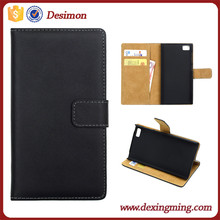 New Genuine Real Flip Leather Case Cover For Xiaomi Phone/Mobile Mi3 MI 3