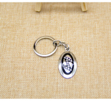 Alloy keychain, cheap zinc alloy keychain keychain can do pendant gift <strong>crafts</strong>