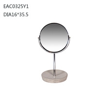 mirror frame stand concrete material from Urban Supplier shenzhen factory