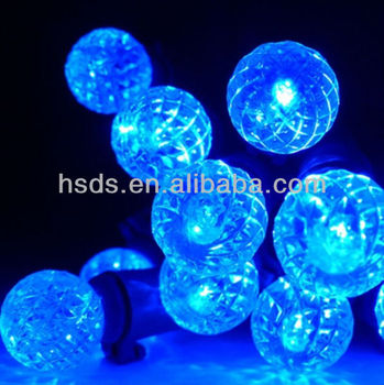 Led String Lights Round : 12 Round Led String Lights,6 Ft. Green Wire,Battery Operated,Blue - Buy Round String Light ...