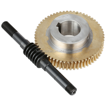 High Quality Forging Worm Gear and Worm For Machinery, cnc machining part