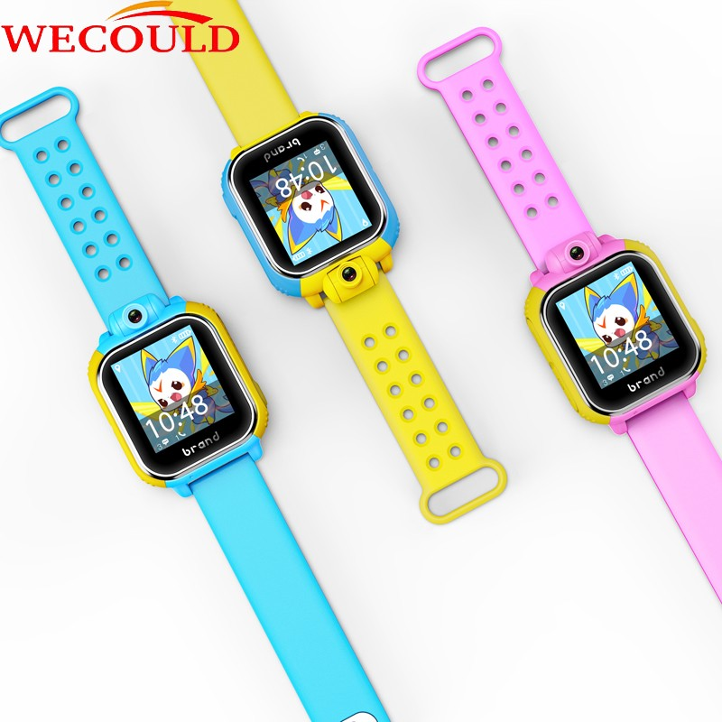 WECOULD Gps Gsm Gprs Wrist Watch Support 3G Network, Gps Kids Watch Tracker Camera 2.0MP , Kids Gps Watch Wifi