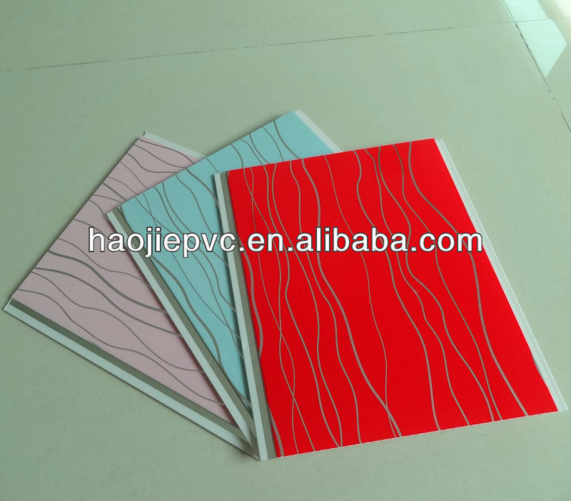 Decorative Pvc Panel Plastic Material Hot Stamping New