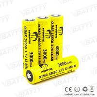 40a High drain Mainifire 18650 3000mAh 3.7V 40a battery, 18650 40a,18650 rechargeable batteries for power tools/e-cigs