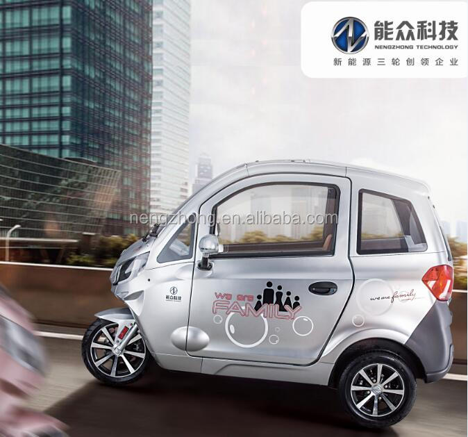 motor 3000W electric cargo tricycle with cabin