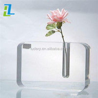 Wholesale lucite photo frame clear acrylic picture frames 3x5