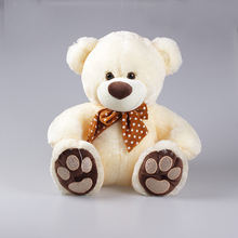plush animal love doll stuffed toys plush teddy bear with embroidery in feet