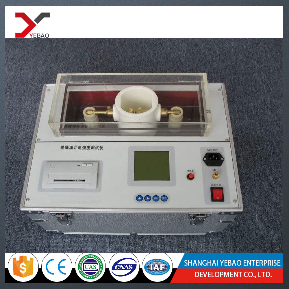 China supplier Insulation Oil DC Resistivity and Oil Dielectric Loss Factor Tester