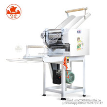 Best price industrial electric chinese commercial automatic udon fresh ramen noodle press cutting steamer making machine