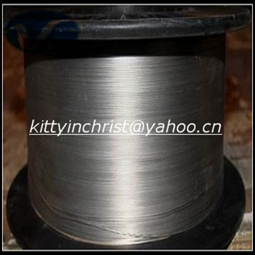 Polished nickel titanium shape memory alloy wires