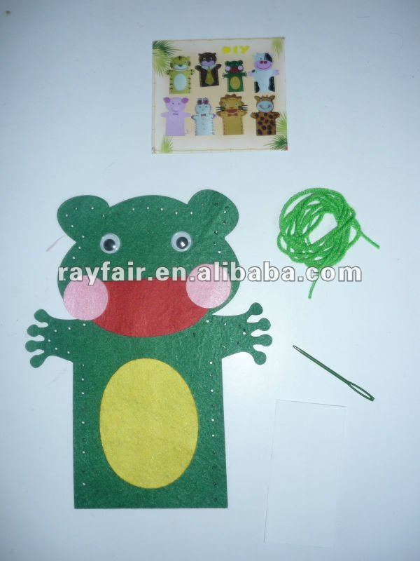 felt craft/sewing craft/sewing animal