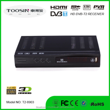fully digital HD Receiver tdt colombia/France decodificador 1080P full hd RECEIVER T2-box With doby /scart