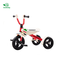 Simple model OEM folding baby tricycle for 3-6 years old child, ride on toys 3 wheels bike trike