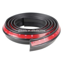 UV resistance car bumper protection rubber seal strips with 3M adhesive tapes