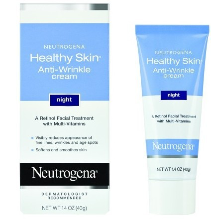 Neutrogena Healthy Skin Anti-Wrinkle Cream, Night Formula
