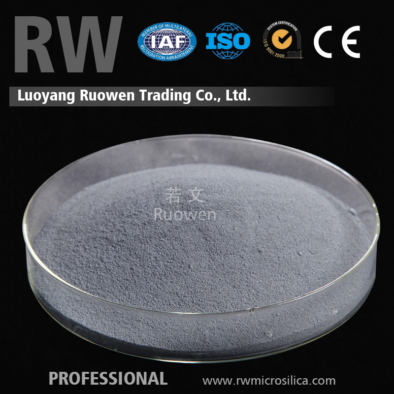 Superfine Light Grey Silica Fume Densified Micro Silica Amorphous Silica For Argil/ Motar