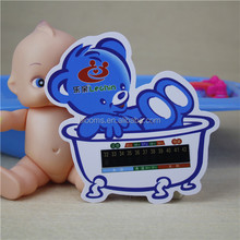 China Made Water-proof Baby Bath Card Water Thermometer Digital