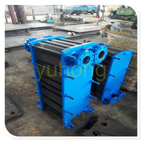 water plate and frame steam cooler