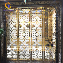 Indoor decorative laser cut stainless steel screen partition / room divider