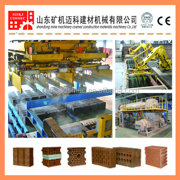 Robotic brick making equipment and setting machine of brick making equipment
